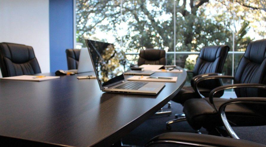 Junta General Ordinaria de Accionistas, sala de reuniones