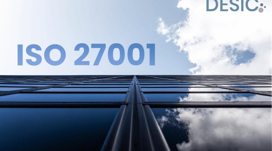 ISO 27001 y logotipo de DESIC
